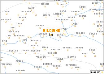 map of Bildīsha