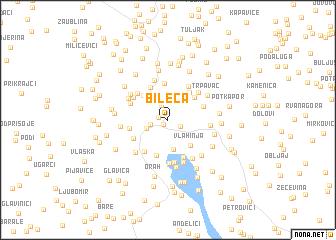 map of Bileća