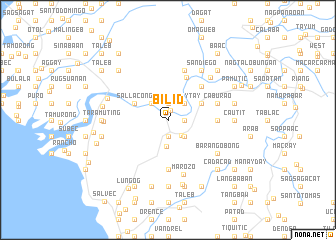 map of Bilid