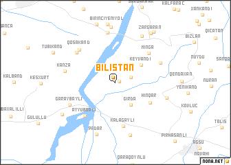 map of Bilistan
