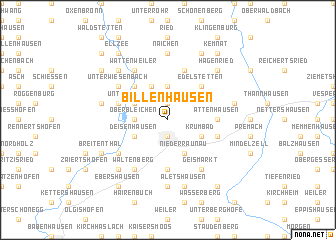 map of Billenhausen