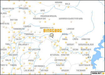 map of Binagbag