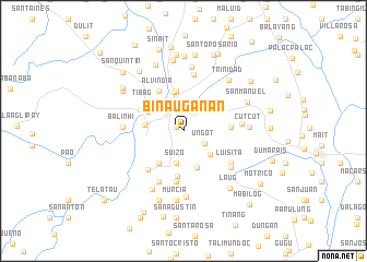 map of Binauganan