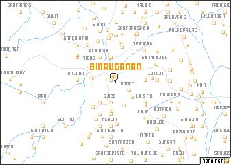 map of Binauganan