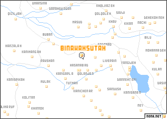 map of Bināwah Sūtah