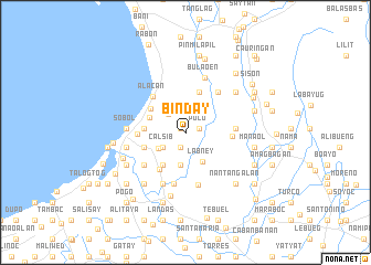 Binday Philippines map nonanet