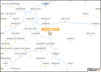 map of Bindyuga