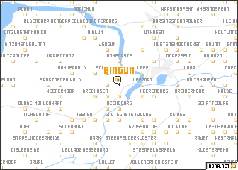 map of Bingum
