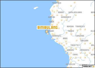 map of Binibulang