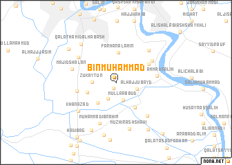 map of Bin Muḩammad