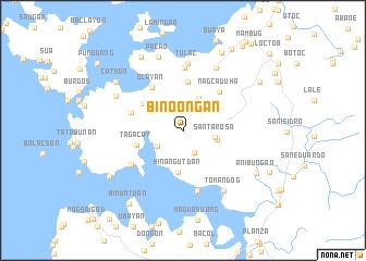 map of Bino-ongan