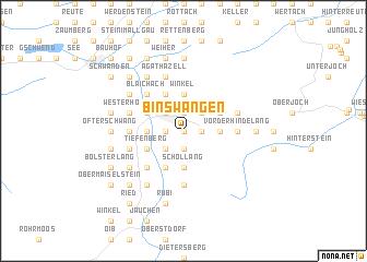 map of Binswangen