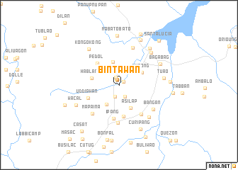 map of Bintawan