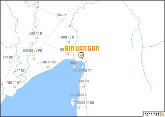 map of Binuangan