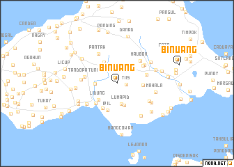 map of Binuang