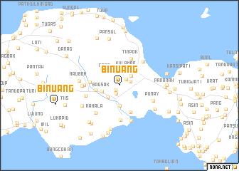 map of Binuang