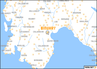 map of Binuhay