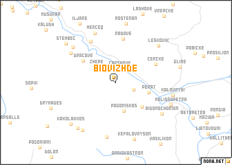 map of Biovizhdë