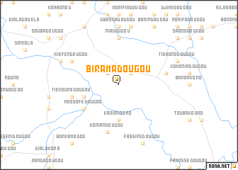 map of Biramadougou
