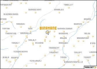 map of Biramane