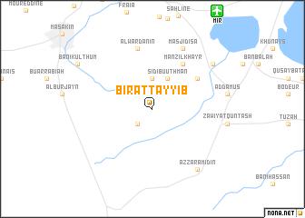 map of Bi'r aţ Ţayyib