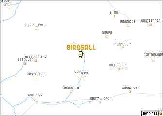 map of Birdsall