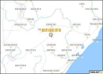 map of Biribeira