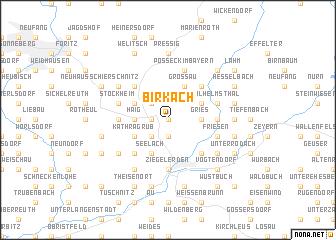 map of Birkach