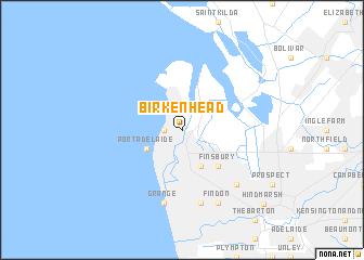 Birkenhead (Australia) map - nona.net