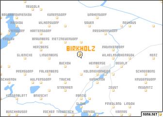 map of Birkholz