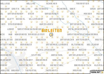 map of Birleiten