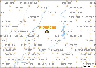 map of Birnbaum