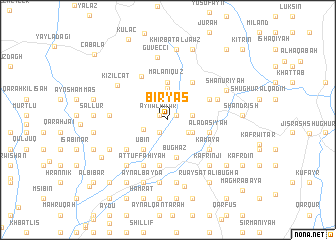 map of Biryāş