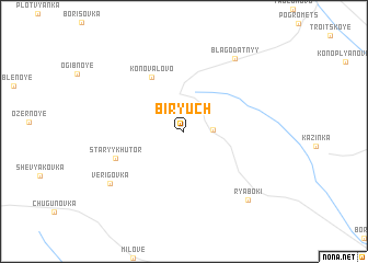 map of Biryuch