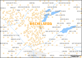 map of Bischelsroid