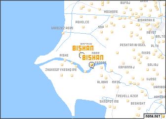 map of Bishan