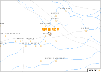 map of Bisimbre