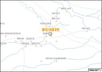 map of Bisimbre