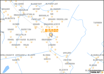 map of Bismār