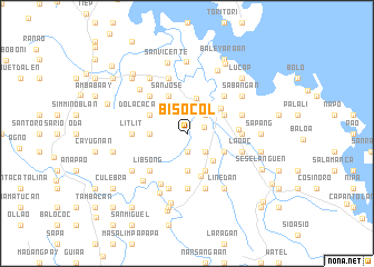 map of Bisocol