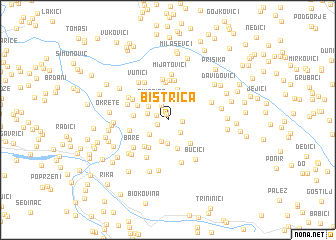 map of Bistrica