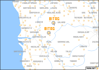 map of Bitag