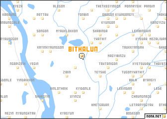 map of Bithalun