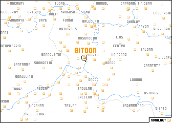 map of Bitoon