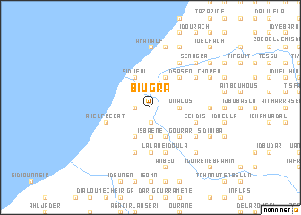 map of Biugra