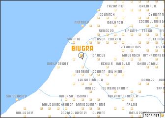 map of Biugra