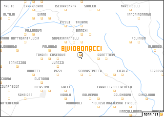 map of Bivio Bonacci