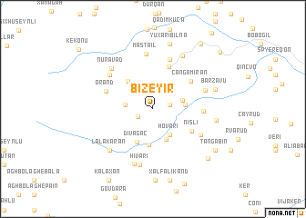 map of Bizeyir