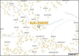 map of Bjelosavac
