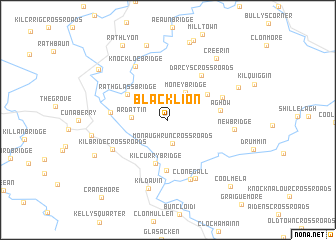 Blacklion Ireland Map Nona Net